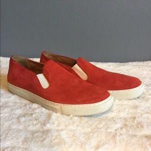 Comme Des Garçons x The Generic Man Red Sneaker